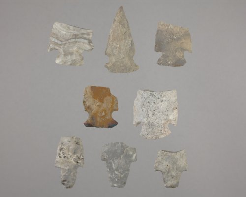 Stemmed Dart Points from the Arrowhead Island Site, 14CF343 - Page