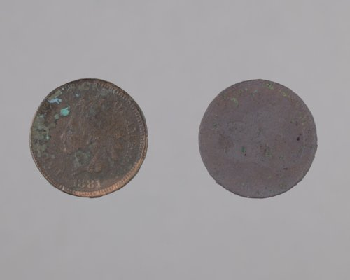 Coins from the Canville Trading Post, 14NO396 - Page