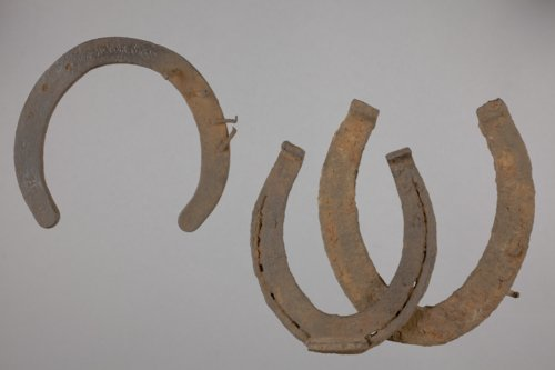 Horseshoes from the Hollenberg Pony Express Station, 14WH316 - Page