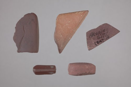 Pipestone Artifacts from the Fanning Site, 14DP1 - Page