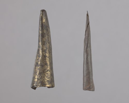 Cone Tinklers or Metal Arrow Points from the Jotham Meeker Farmstead, 14FR308 - Page