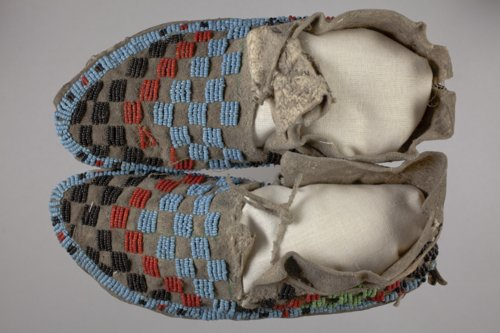 Child's Beaded Moccasins - Page