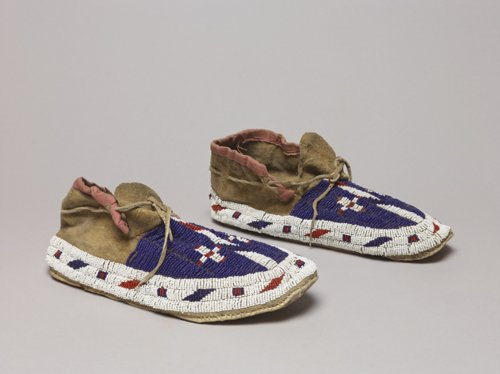Beaded Moccasins - Page