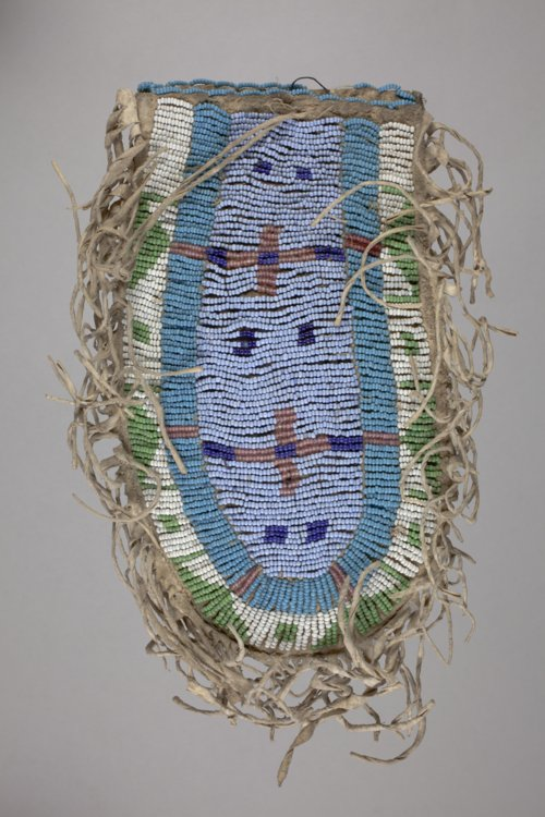Beaded Pouch - Page