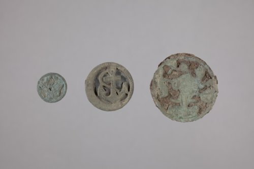 Metal Buttons from the Hollenberg Pony Express Station, 14WH316 - Page