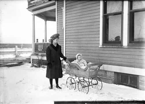 Blanche and Georgie Halbe, Dorrance, Kansas - Page