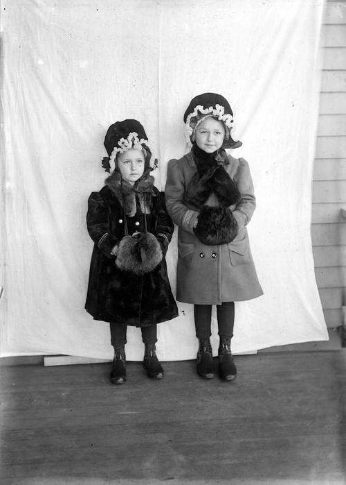 Lydia and  Bertha Major - Page