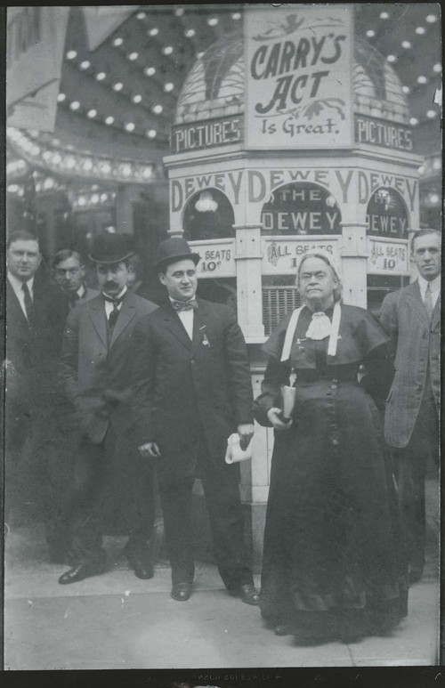 Carry Nation at the Dewey Theatre, New York, N. Y. - Page