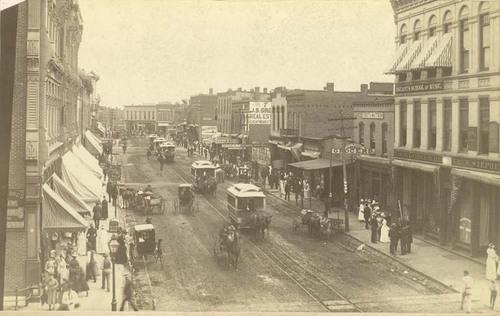Main Street in Fort Scott, Kansas - Page