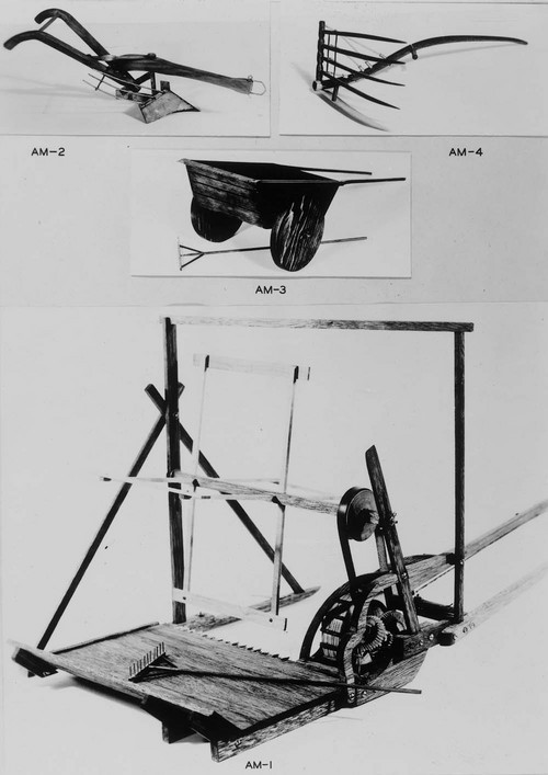 Agricultural implement models - Page