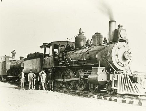 Atchison, Topeka & Santa Fe Railway Company's steam locomotive #355 - Page