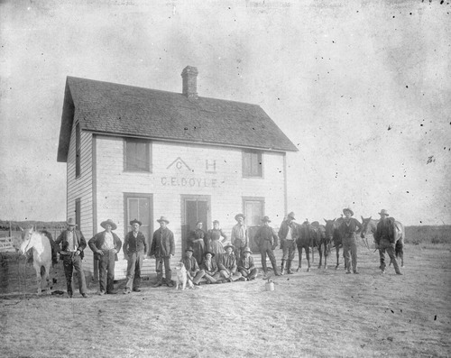 ^c ranch owned by C. E. Doyle, Clark County, Kansas - Page