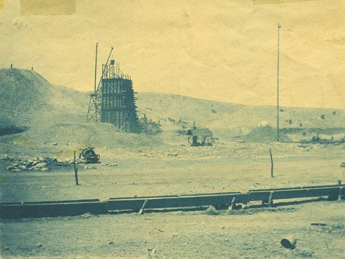 Track construction, Abo Canyon, New Mexico - Page