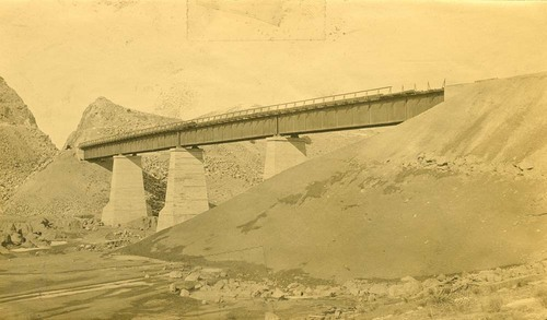 Atchison, Topeka & Santa Fe Railway Company bridge, Abo Canyon, New Mexico - Page
