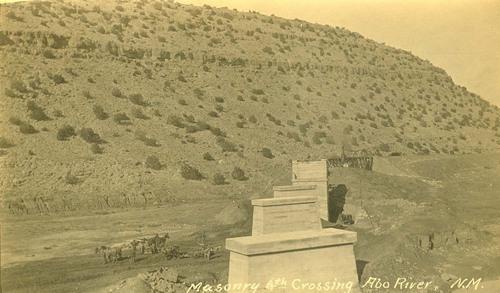 Atchison, Topeka & Santa Fe Railway Company bridge, Abo Canyon, New Mexico - Page
