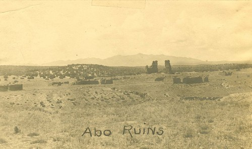Abo ruins, Abo Canyon, New Mexico - Page