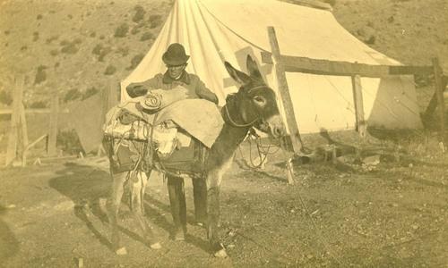 Atchison, Topeka & Santa Fe Railway Company employee, Abo Canyon, New Mexico - Page