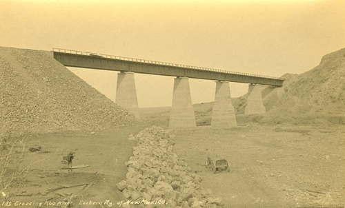 Eastern Railway of New Mexico bridge, Abo River, New Mexico - Page