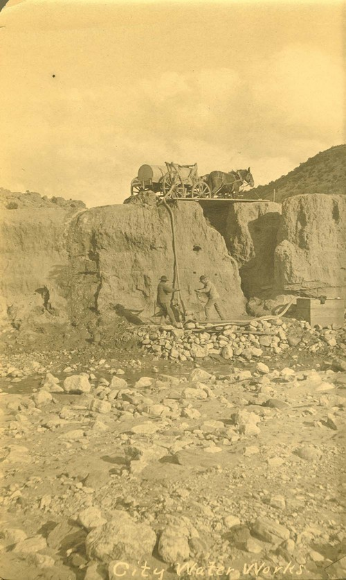 City water works, Abo Canyon, New Mexico - Page
