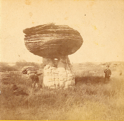 Mushroom Rock, 1867