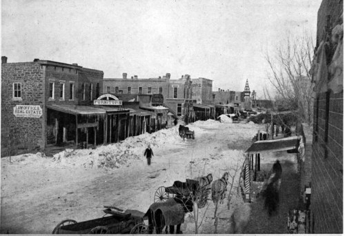 Snow scene, Ellsworth, Kansas - Page