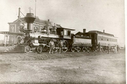 Atchison, Topeka & Santa Fe Railway Company's steam locomotive #5 - Page