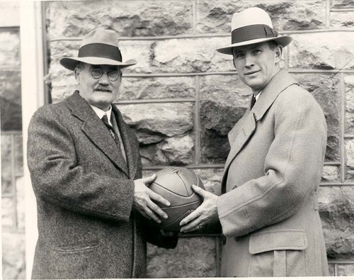 James Naismith and Forrest Claire (Phog) Allen - Page