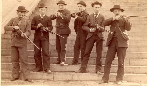 Guards during the Populist War, Topeka, Kansas - Page