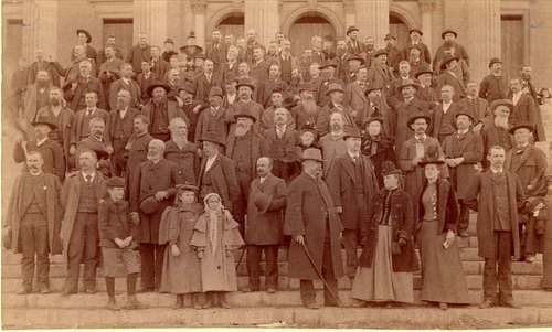 Populist members of the House of Representatives, Topeka, Kansas - Page