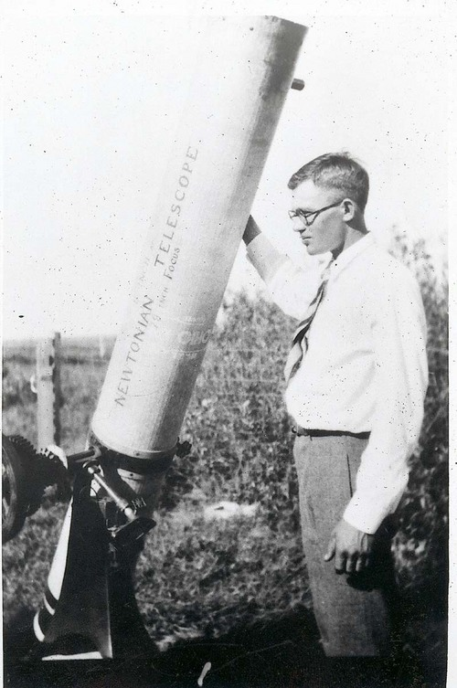 Clyde Tombaugh - Page