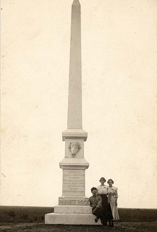 Pawnee Rock Monument, Pawnee Rock, Kansas - Page