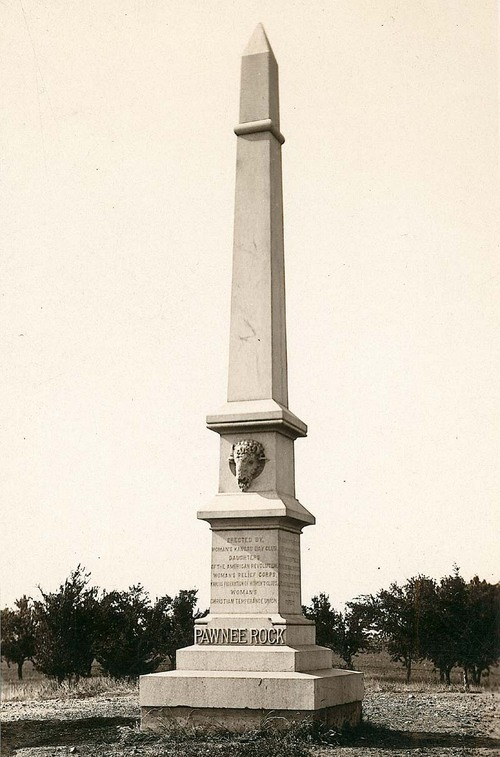 Pawnee Rock Monument, Pawnee Rock, Kansas - Page