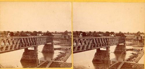 Bridge and dam under construction, Lawrence, Kansas - Page