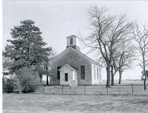 Photo of First Church of Christ in Wabaunsee is also known as the Beecher Bible & Rifle Church, Wabaunsee.