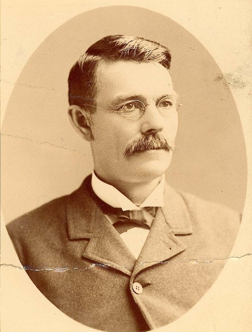 "Portrait of Jeremiah ""Sockless Jerry"" Simpson, Populist, United States Representative from Kansas, 1897-1899."