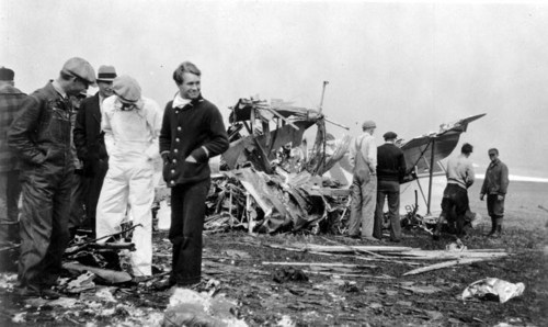 Knute Rockne airplane crash wreckage - Page