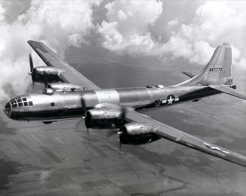 Boeing B-29 bomber - Page