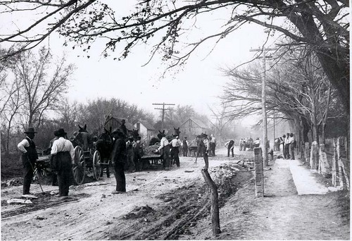 Road construction, Beloit, Kansas - Page