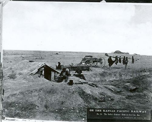 Buffalo hunter's home, Sheridan, Kansas - Page