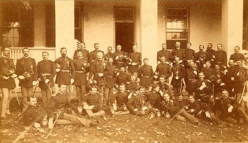 Officers, Fort Leavenworth, Kansas - Page