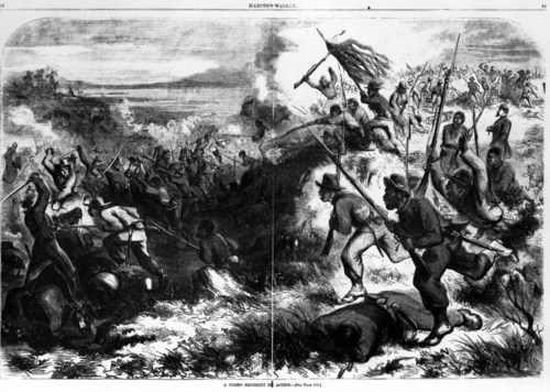 A Negro Regiment in Action - Page