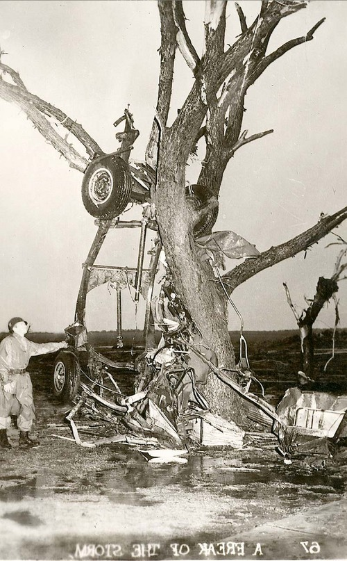 Tornado damage in Udall, Kansas - Page