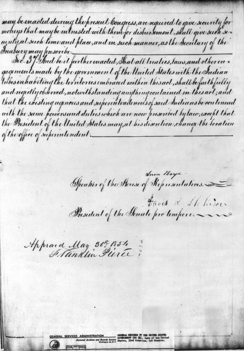 Kansas Nebraska Act - Page