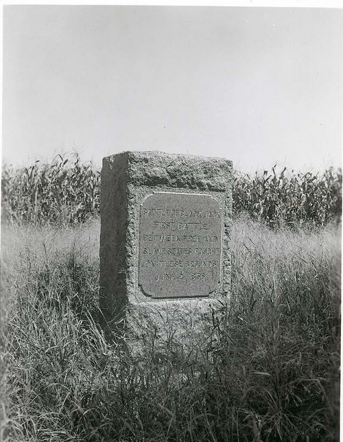 Black Jack Monument, Douglas County - Page