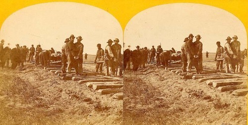 Laying the Rails of the Union Pacific - Page