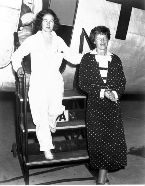 Amelia Earhart and Laura Ingalls - Page
