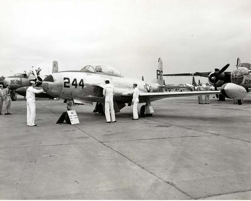 TV2 Jet Trainer, Hutchinson Naval Air Station, Hutchinson, Kansas - Page