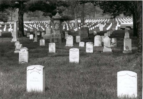 National Cemetary at Fort Leavenworth, Kansas - Page