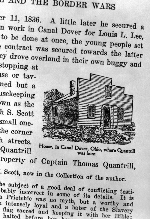 William Clarke Quantrill birthplace - Page