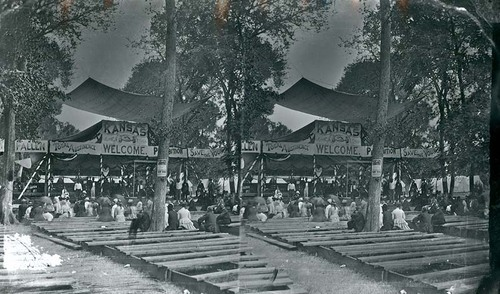 Prohibition Camp Meeting in Bismark Grove, 1878 - Page